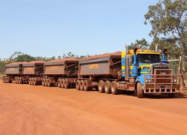 ظرفیت باربری کامیون