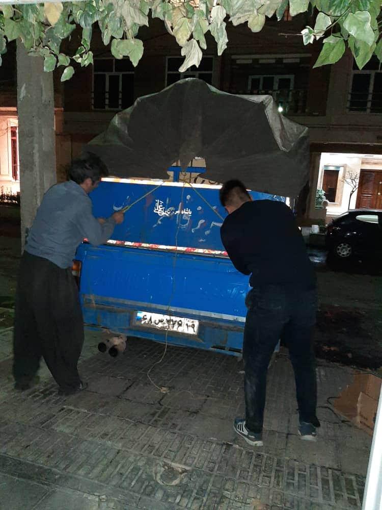 نیسان شهرستان باربری غرب تهران -کارگران مجرب