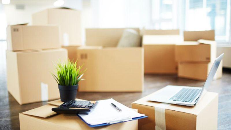 حساب کردن هزینه بسته بندی و حمل اثاثیه