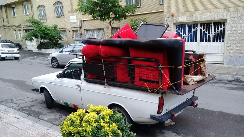 حمل اثاثیه منزل با وانت